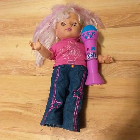 Sprzedam lalkę agatkę z mikrofonem