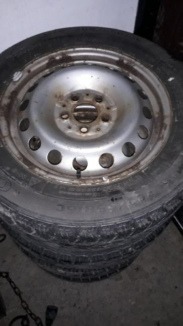 Koła opony felgi Mercedes vito viano w639