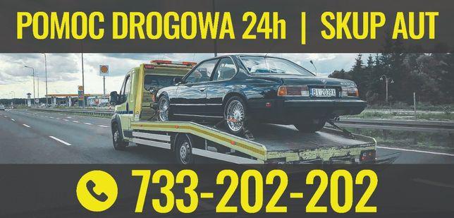 Pomoc Drogowa 24H Laweta Białystok HOLOWANIE LAWETA