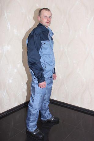 Костюм мужской (куртка, полукомбинезон), спецодежда, рабочая одежда