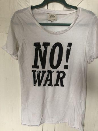 T-shirt Łukasz jemiol basic xs biały