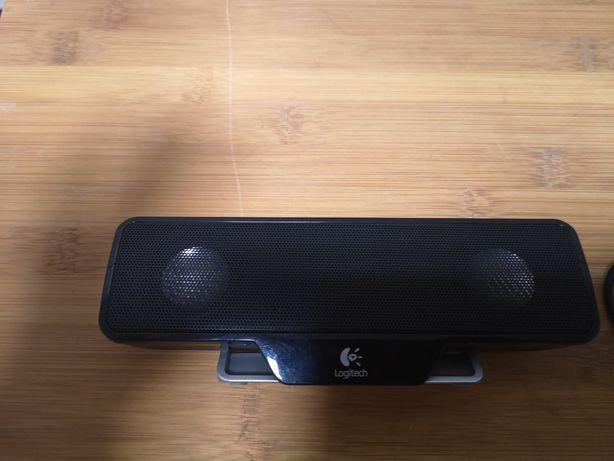 Logitech głośnik USB do laptopów z klipsem