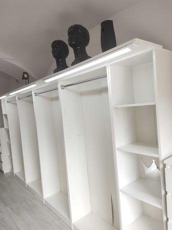 Garderoba szafa podświetlana LED