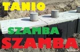 Szambo betonowe gnojowica-ścieki zbiorniki 6m3 szczelny