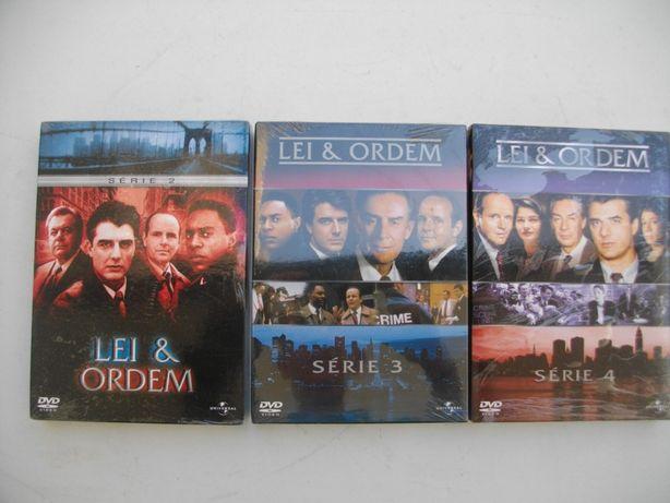 Série 2,3,4: Lei & ordem em DVD