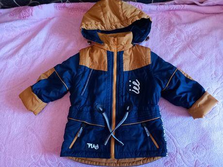 Курточка 2в1 на мальчика