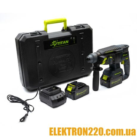 Аккумуляторный перфоратор TITAN PRH2621B-CORE BRUSHLESS