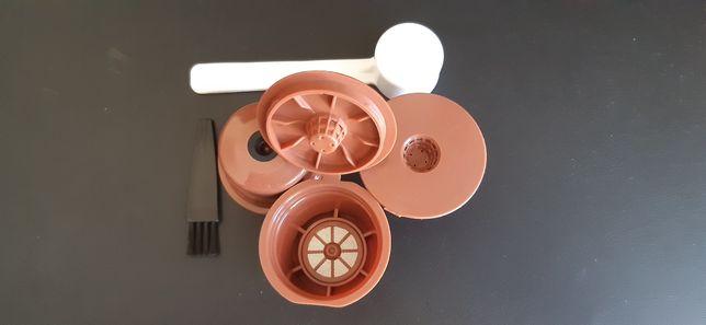 Cápsulas reutilizáveis, máquina de café Pingo Doce