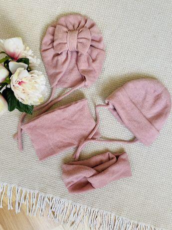 Чалма, солоха, снуд и повязка для мамы family look