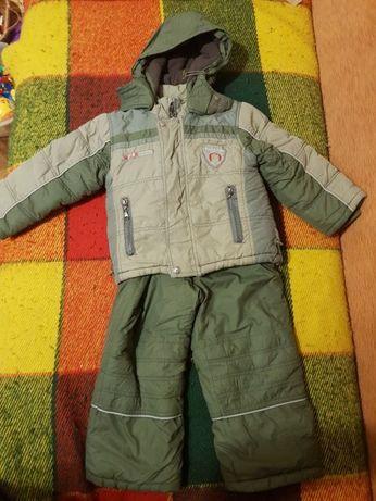 Зимовий костюм тройка комбінезон