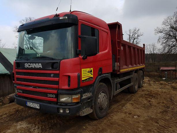 Scania 6x4 wywrotka