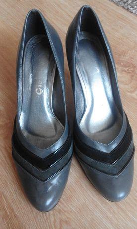 Buty na obcasie damskie - rozmiar 39