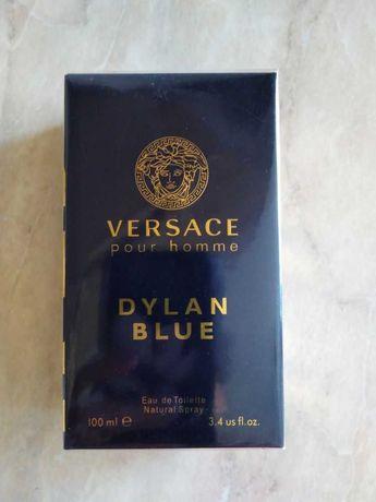 Стильный мужской парфюм Versace Dylan Blue Pour Homme.