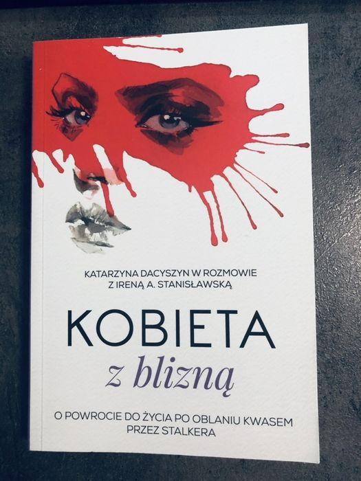 Książka Kobieta z blizną Katarzyna Dacyszyn Tychy - image 1