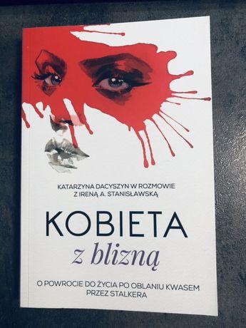 Książka Kobieta z blizną Katarzyna Dacyszyn