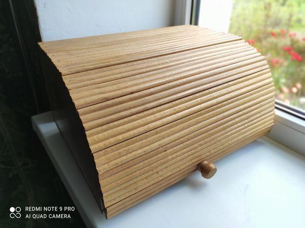 Хлебница деревянная