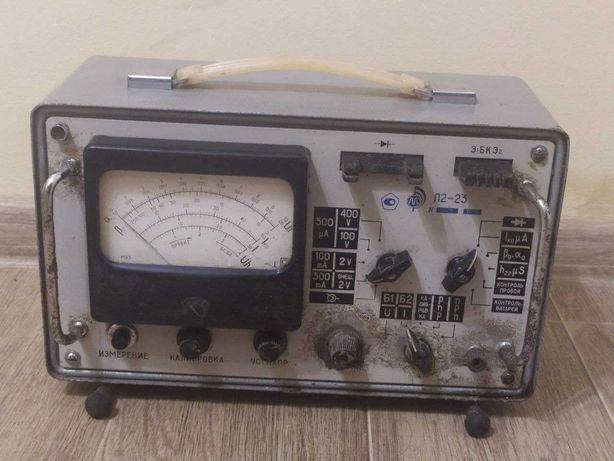 Вольтамперметр та випробувач напівпровідників л2-23 СРСР