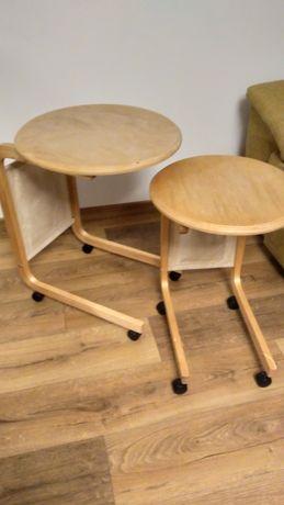 Graty z chaty ;) Ikea Hajdeby stoliki na kółkach