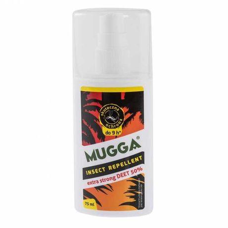 Mugga Spray STRONG 50% DEET na komary i kleszcze