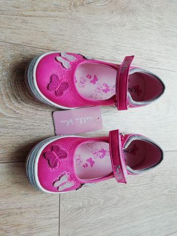 Buty dziewczęce rozmiar 29, dł. Wkładki 19 cm