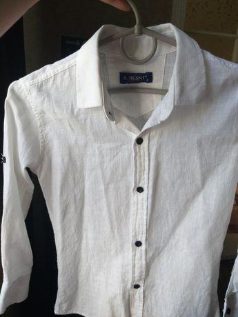 Рубашка,біла для хлопчика