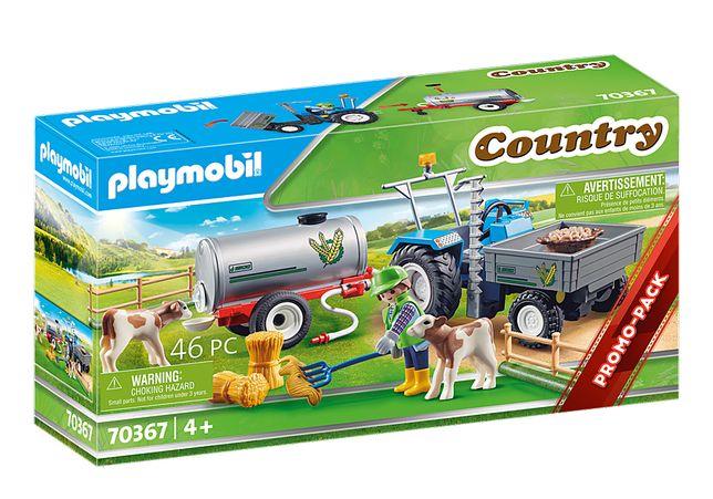 Playmobil 70367 Trator Carga com Tanque - NOVO