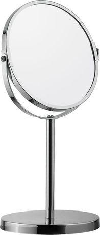 Зеркало косметическое круглое на подcтавке