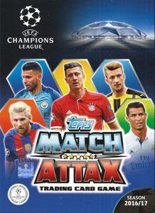 Karty Topps Liga Mistrzów UEFA 2016-17. Match Attax