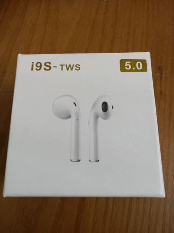 Auriculares I9S TWS Binaural - Novos /Selados
