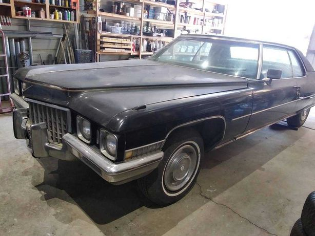 Cadillac  deville  coupe  1971
