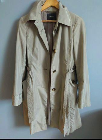 MEEX markowy trencz płaszczyk prochowiec wiosenny elegancki r.36