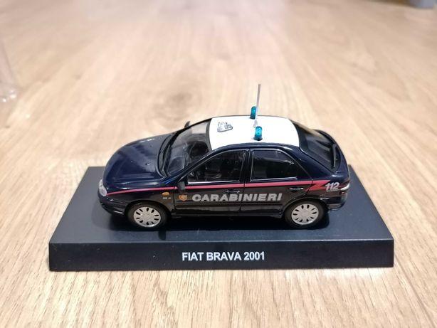 Model Fiat Brava 1:43 Carabinieri - Nowy w blistrze