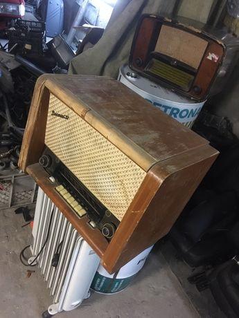 Восток 57 винтажный ретро магнитофон радио громофон
