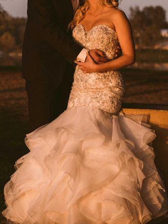 Sprzedam - Suknia ślubna Justin Alexander 8901 + gratis