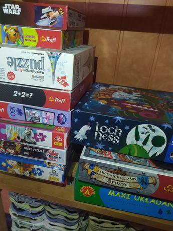 Puzzle gry dziecięce młodzieżowe