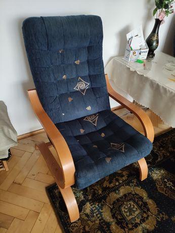 Fotel krzesło wygodne 2szt.