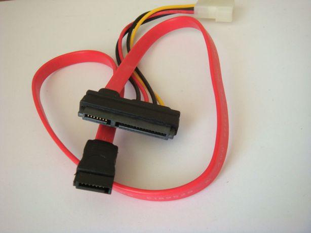 SATA кабель + питание 2 в 1