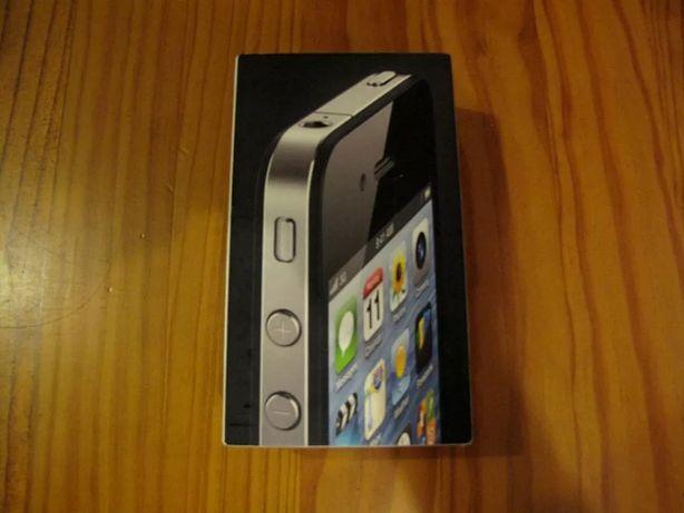 2 iPhones 4 de 8gb e 16gb Pretos (Para Peças)