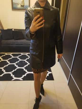 Płaszcz skóra naturalna 38