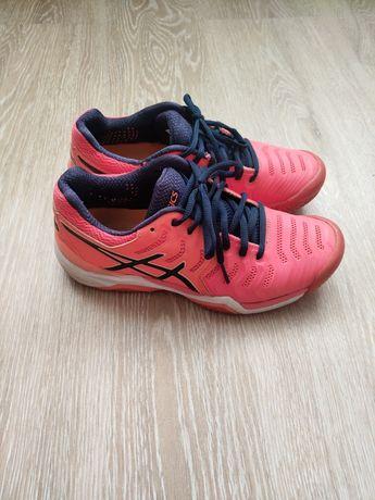 Asics resolution теннисные кроссовки