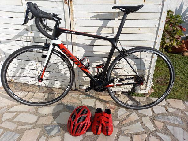 Bicicleta estrada TCR GIANT advanced