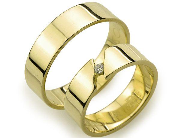 Złote Obrączki pr.585 / Aquart 44 / 5mm / GOLDRUN CHORZÓW