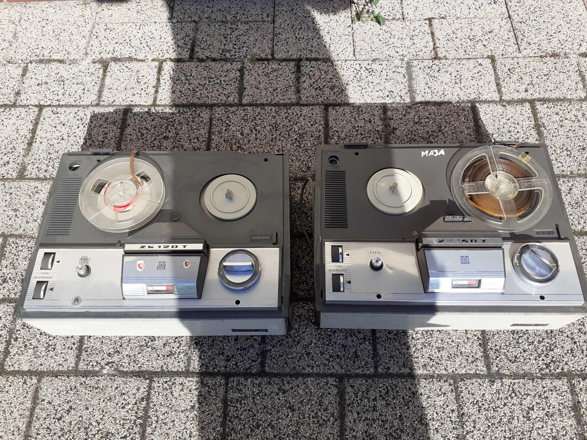 Magnetofon ZK 120, ZK 140T szpulowy Unitra