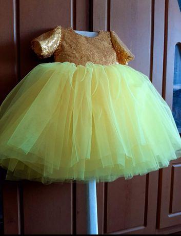 Сукня для святкування першого дня народження