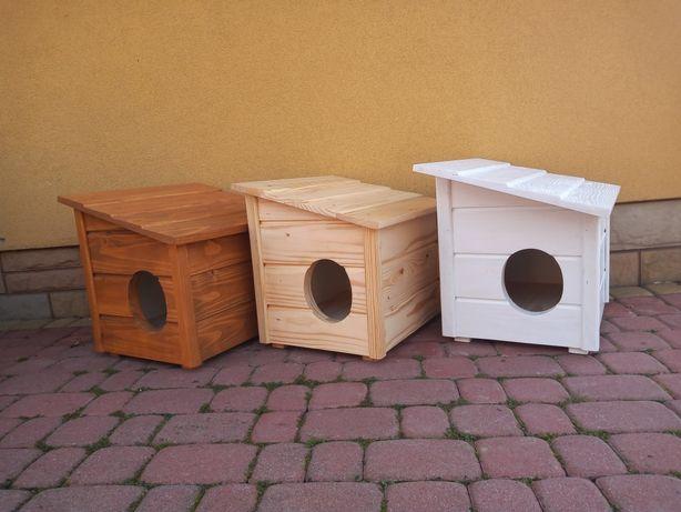 Domek dla kota drewniany