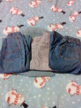 Spodnie dziewczęce 80-86
