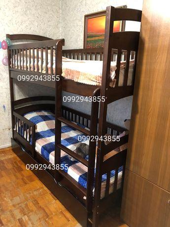 Супер скидка! Двухъярусная кровать Карина трасформер VIP односпальная