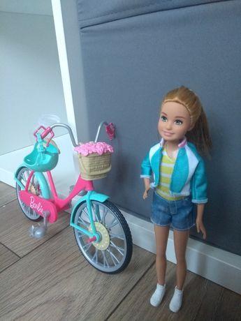 Sprzedam lalkę Barbie z rowerem