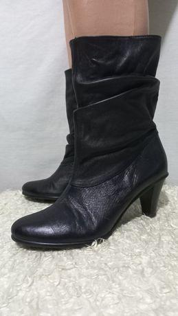 Италия ботинки ботильоны чёрные