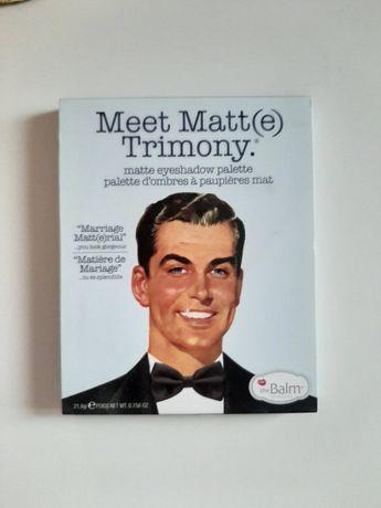 The Balm Meet Matte Trimony paletka cieni do oczu matowe cienie makeup